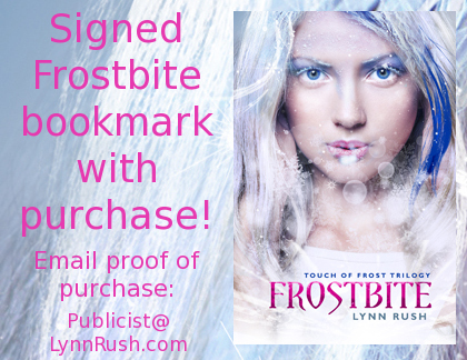 Frostbite Signed Bookmark
